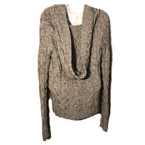 Anthropologie If It Were Me Sweater w Hood, Medium